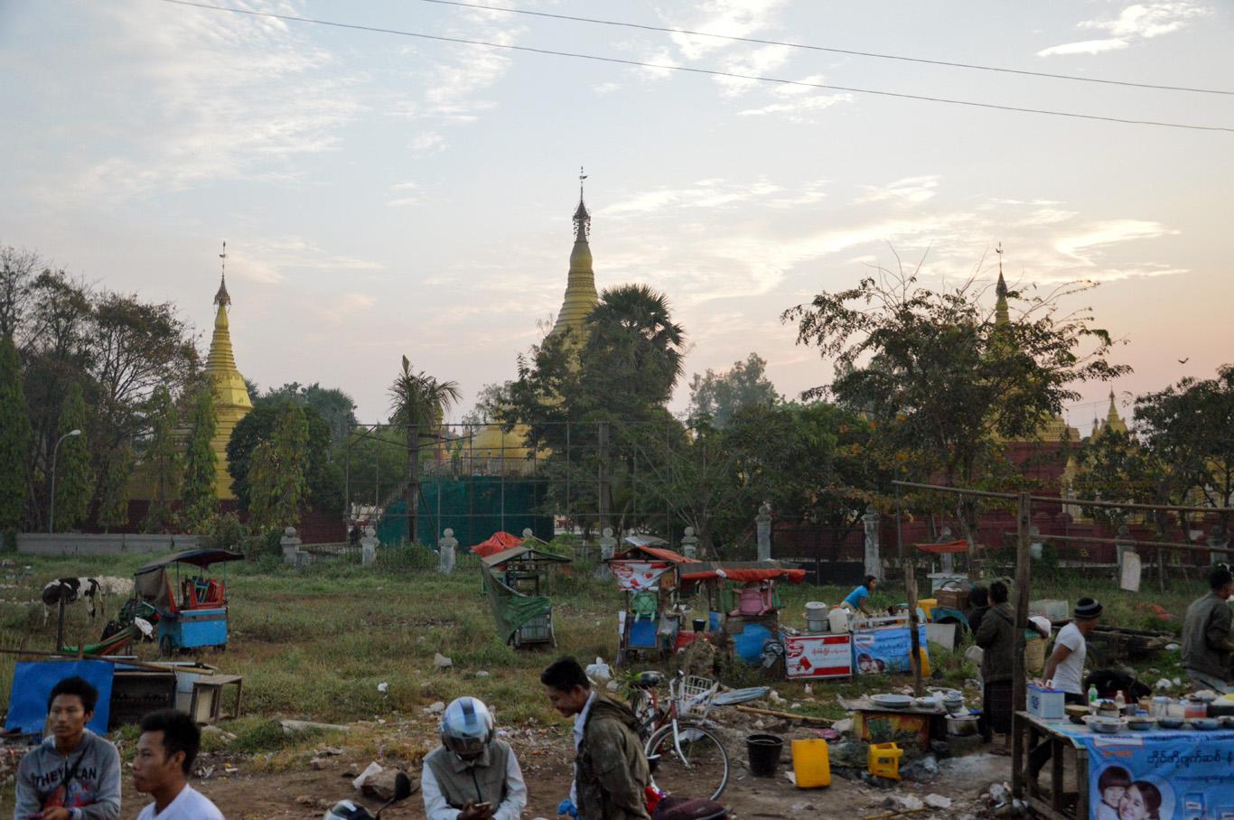 Leaving Yangon