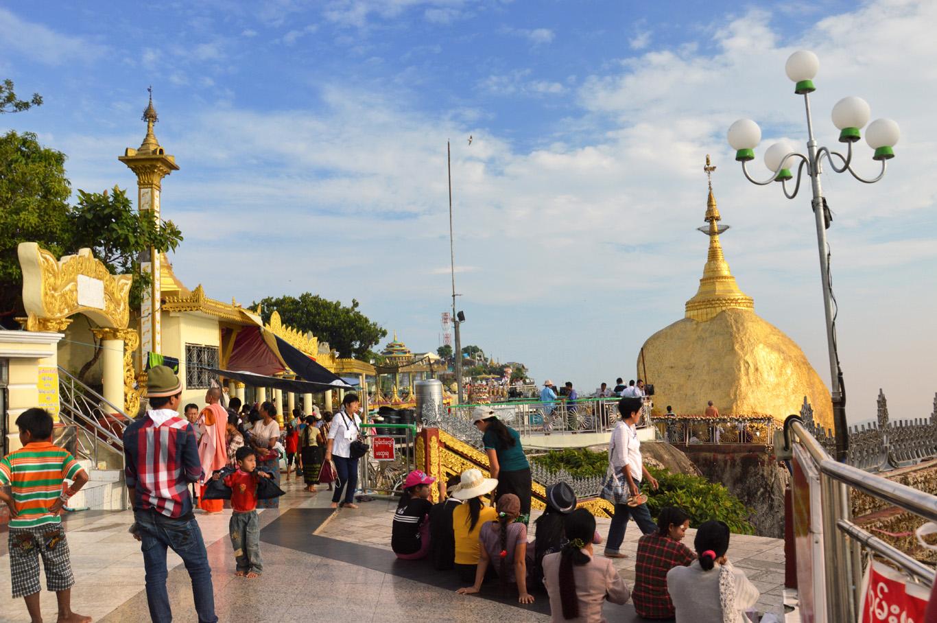 Golden Rock (Kyaiktiyo) Pagoda