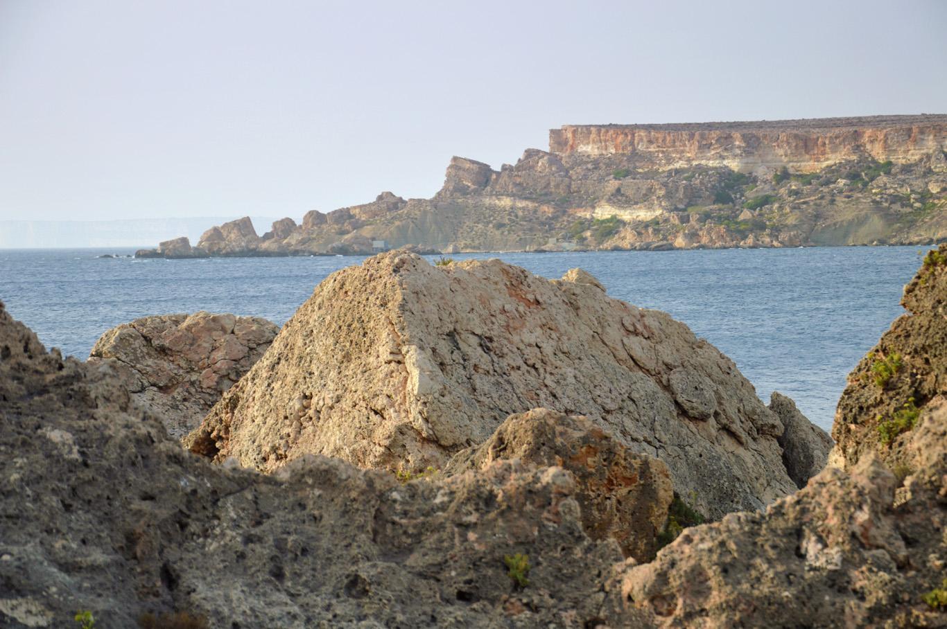 Rocky coast of Malta