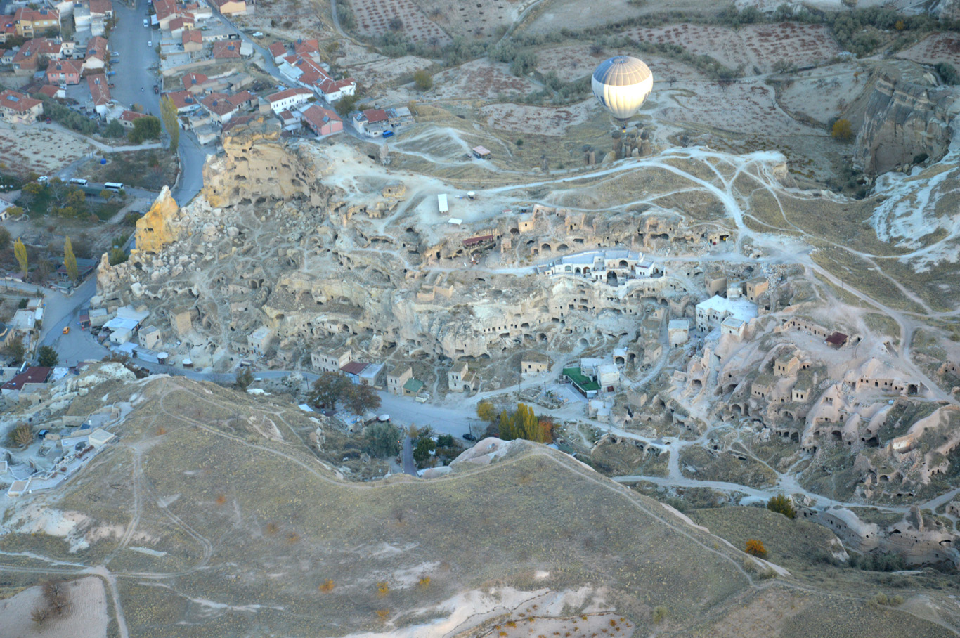 Cave town in Goreme