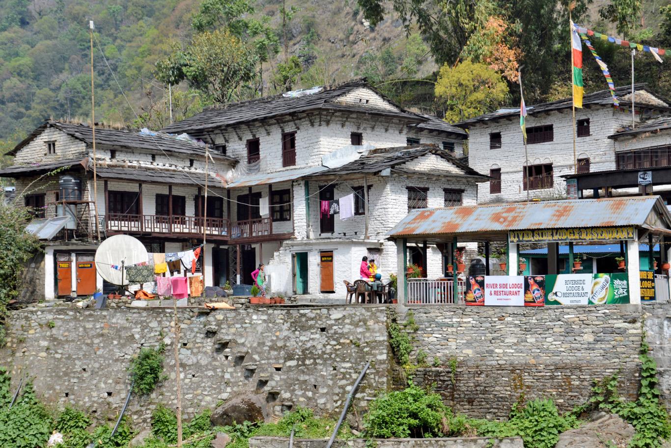 The village of Birethanti