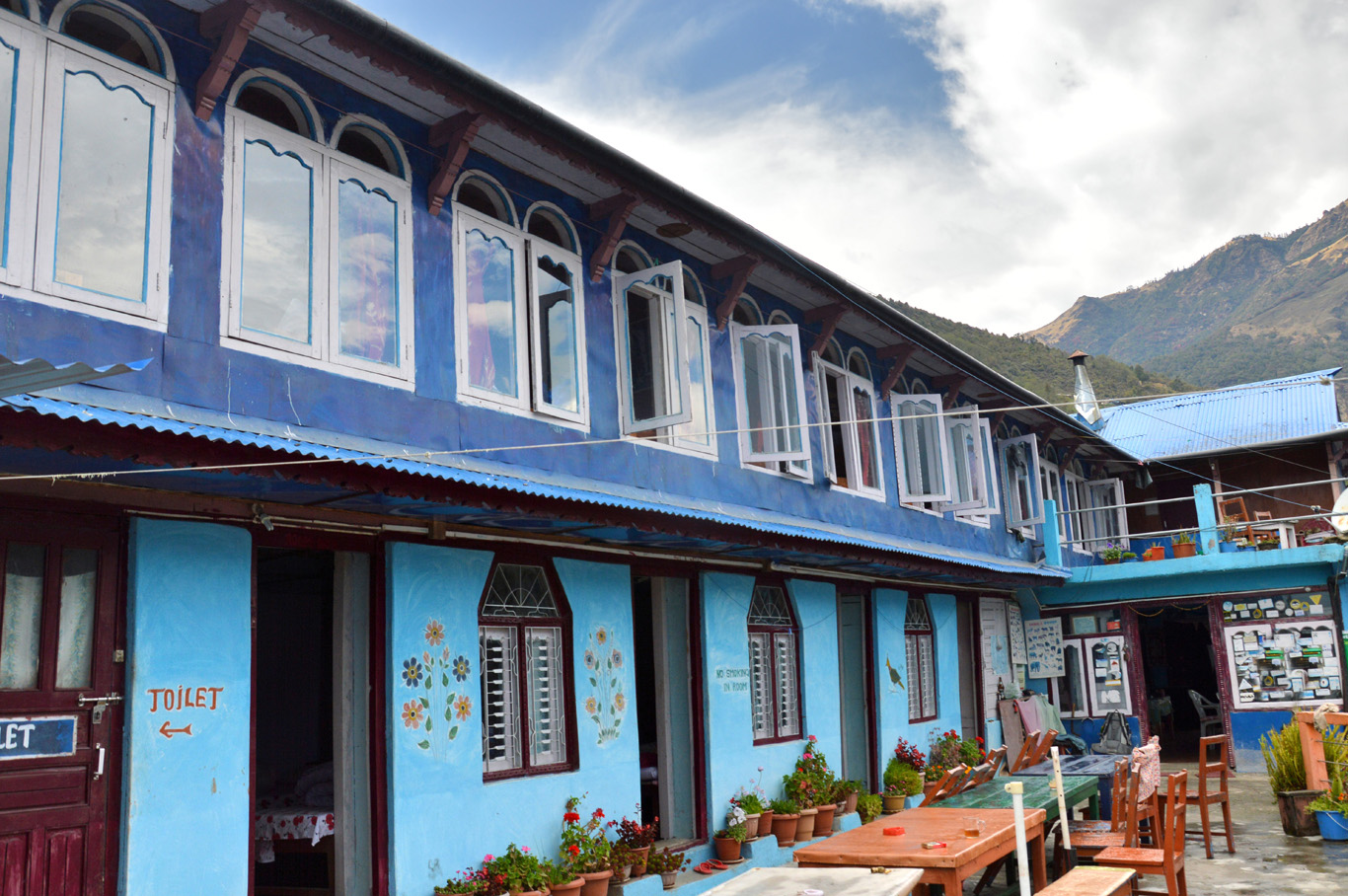 The guesthouse in Ulleri