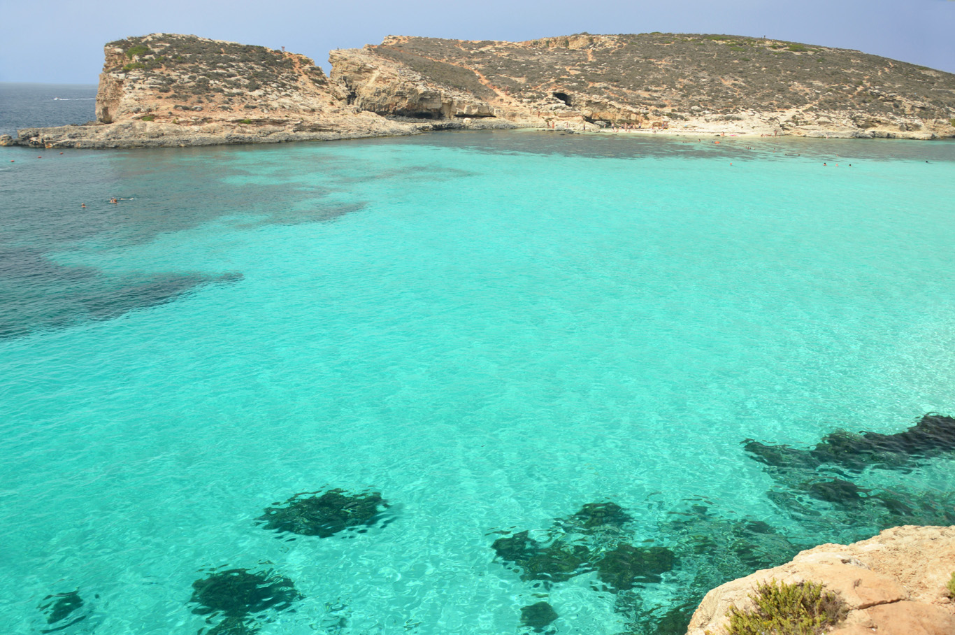 The Most Beautiful Spot In Malta Blue Lagoon Comino
