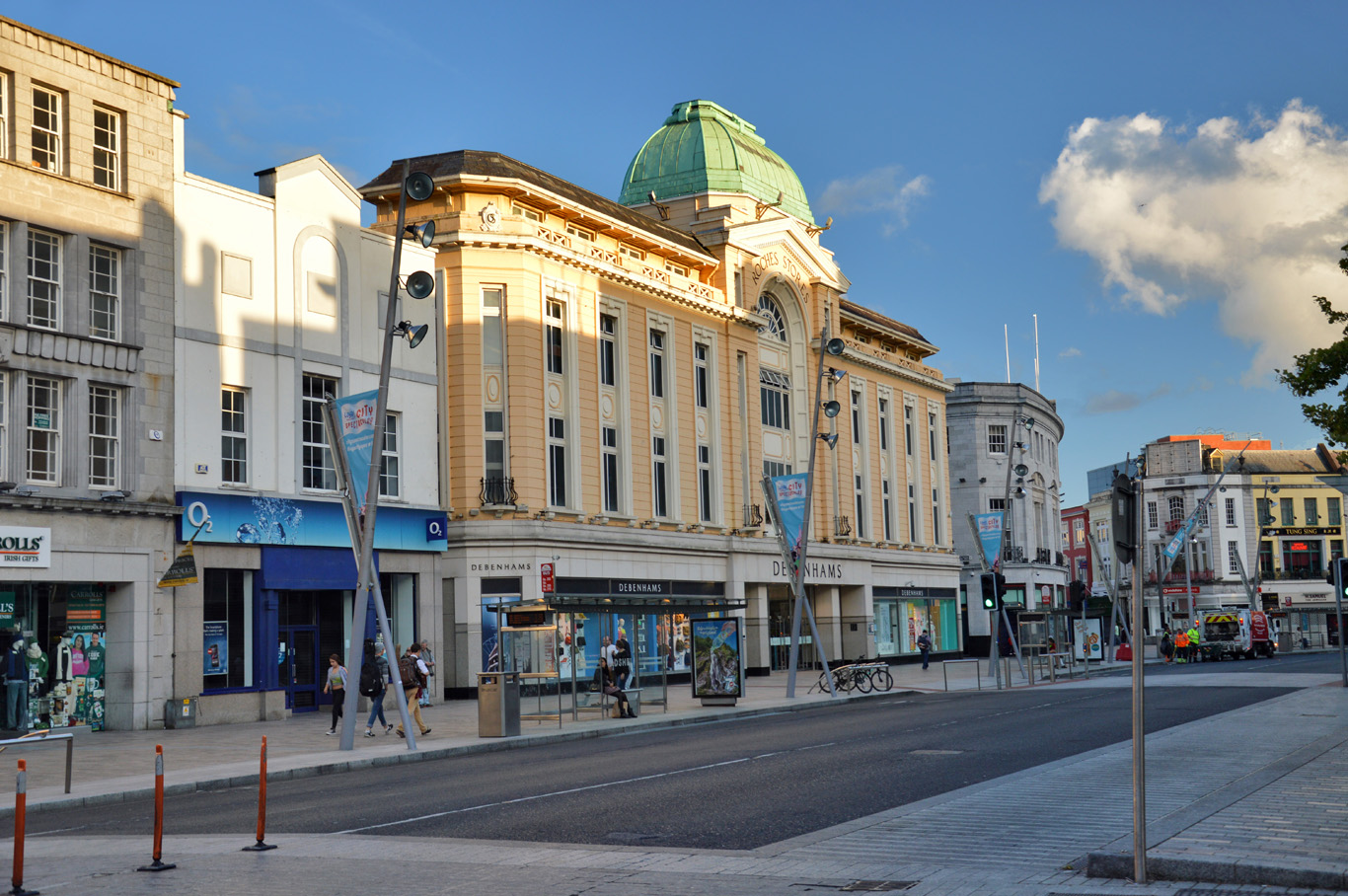 Cork city center