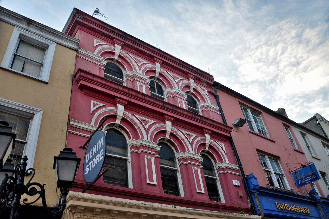 Colorful buildings in Cork