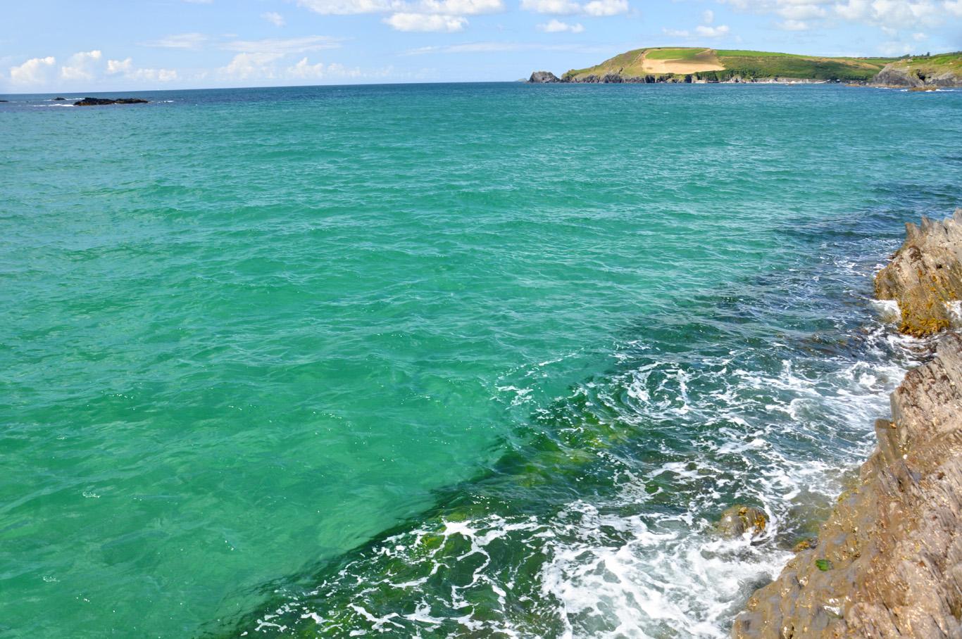 Beautiful, clear sea