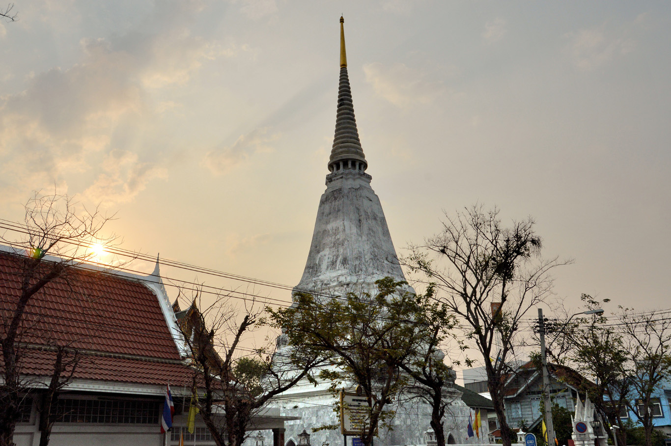 A temple in Bangkok