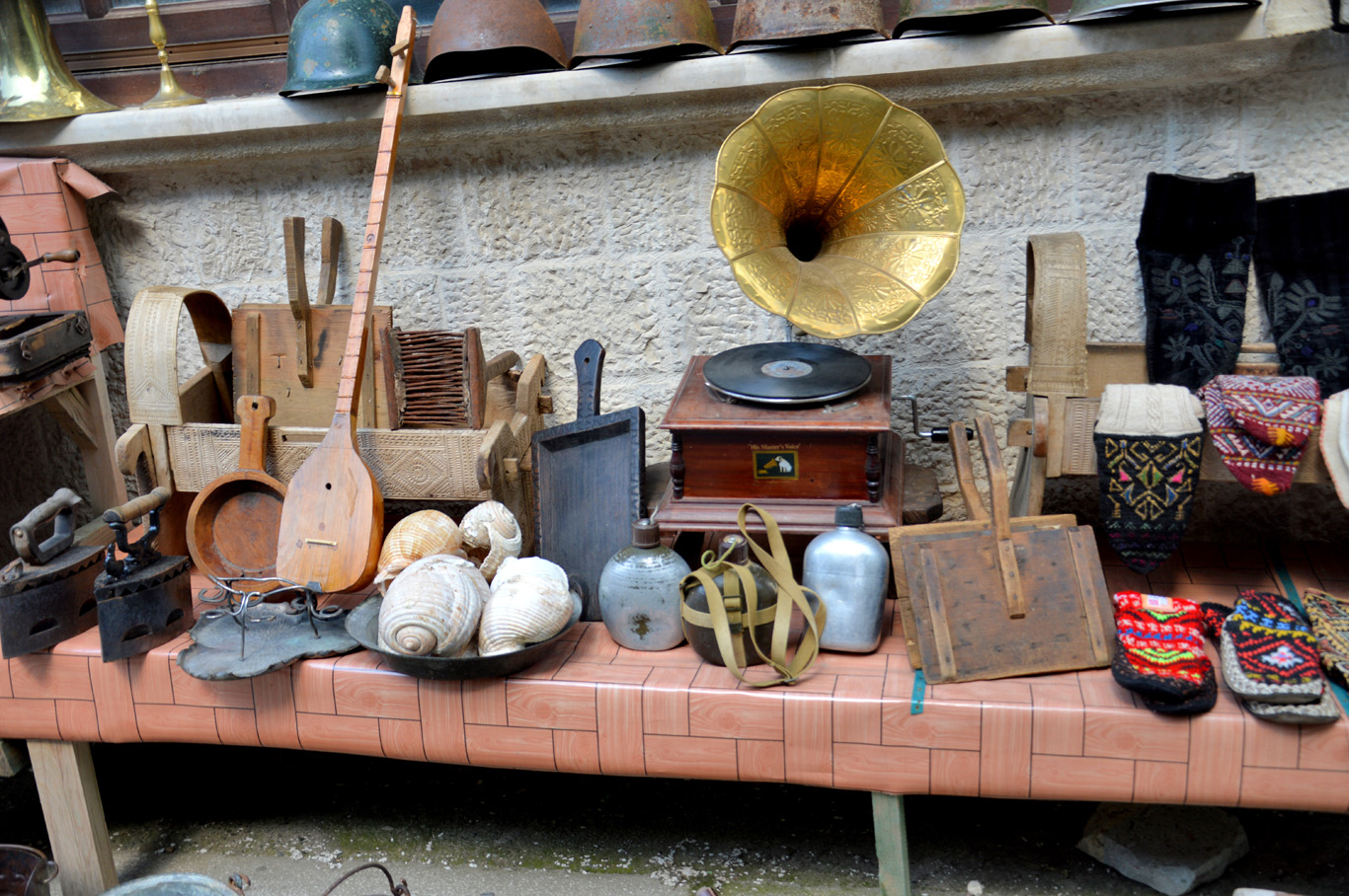 Antiques at the market
