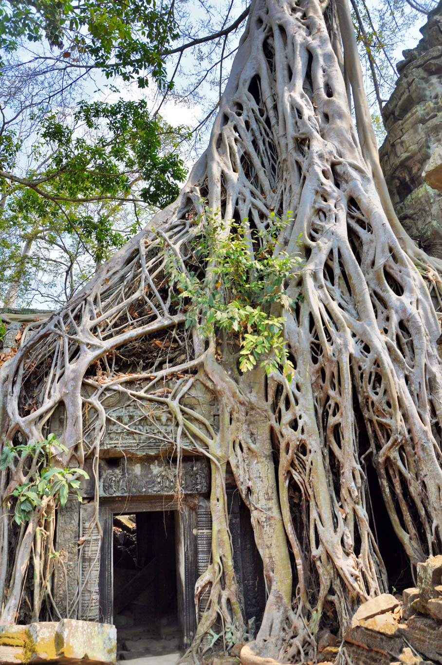 Entrance to ta Phrom Temple