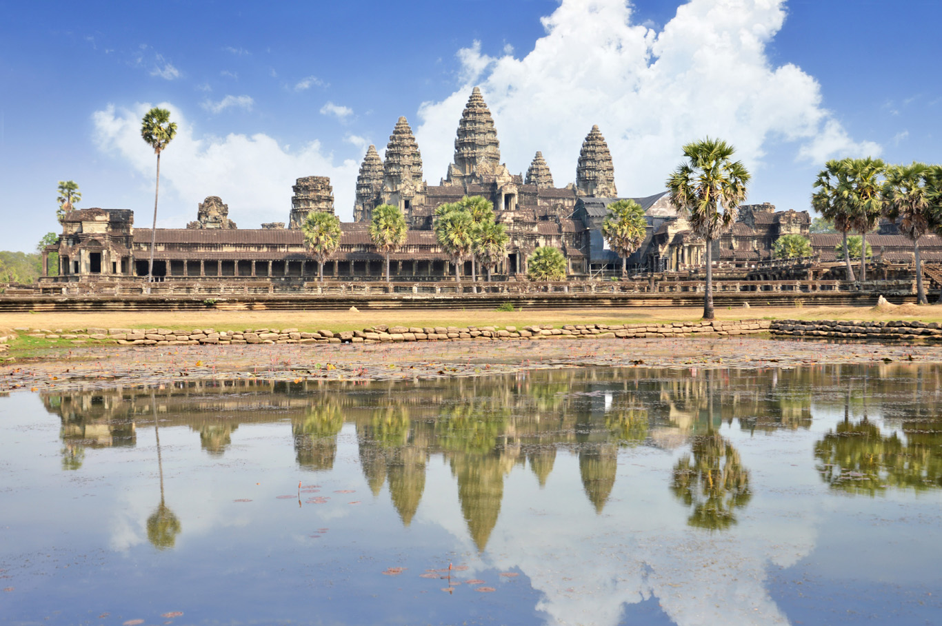 The Angkor Wat Temple complex