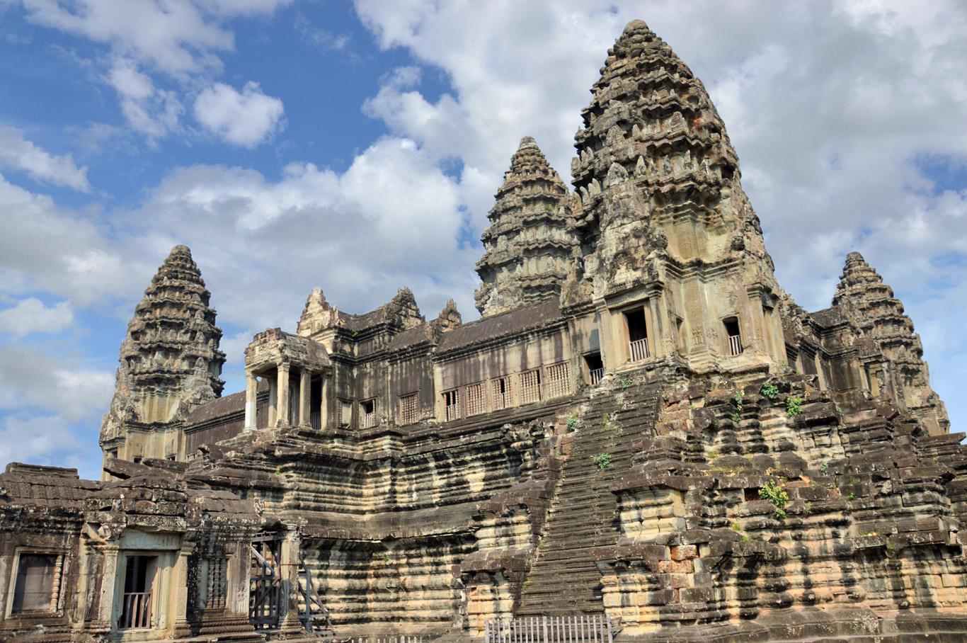 The highest level at Angkor Wat