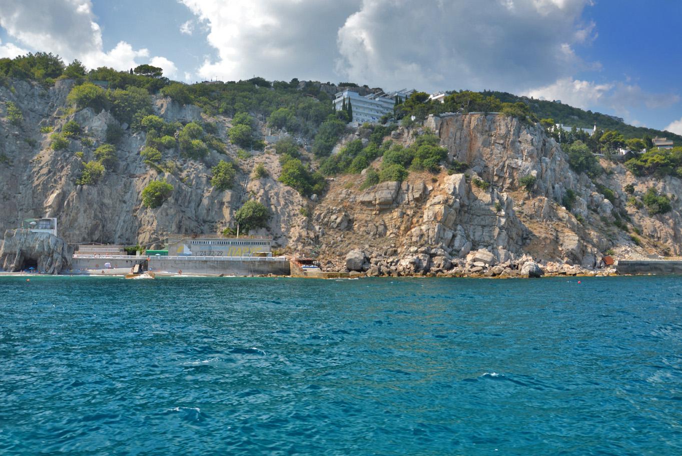 Cliffs at Swallow's Nest