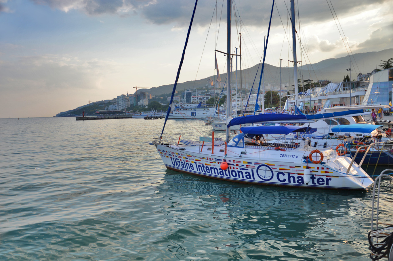 The Black Sea in Yalta