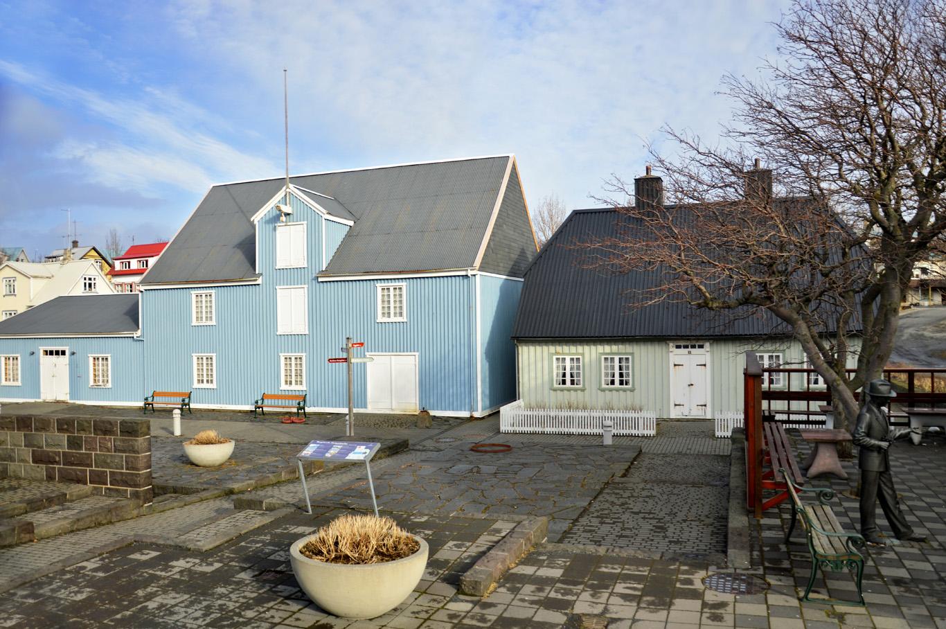 Typical houses around Reykjavik