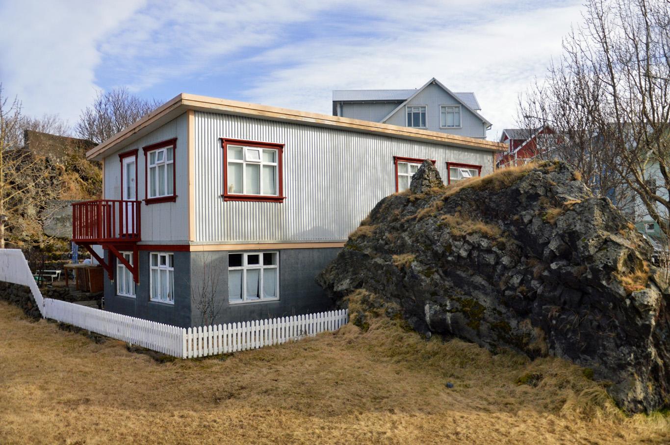 Houses around Reykjavik