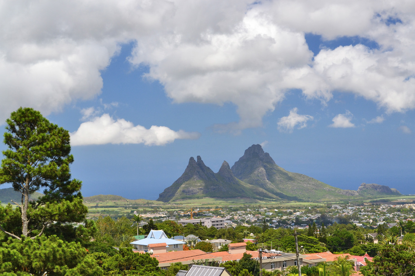 Curepipe Point Mountain