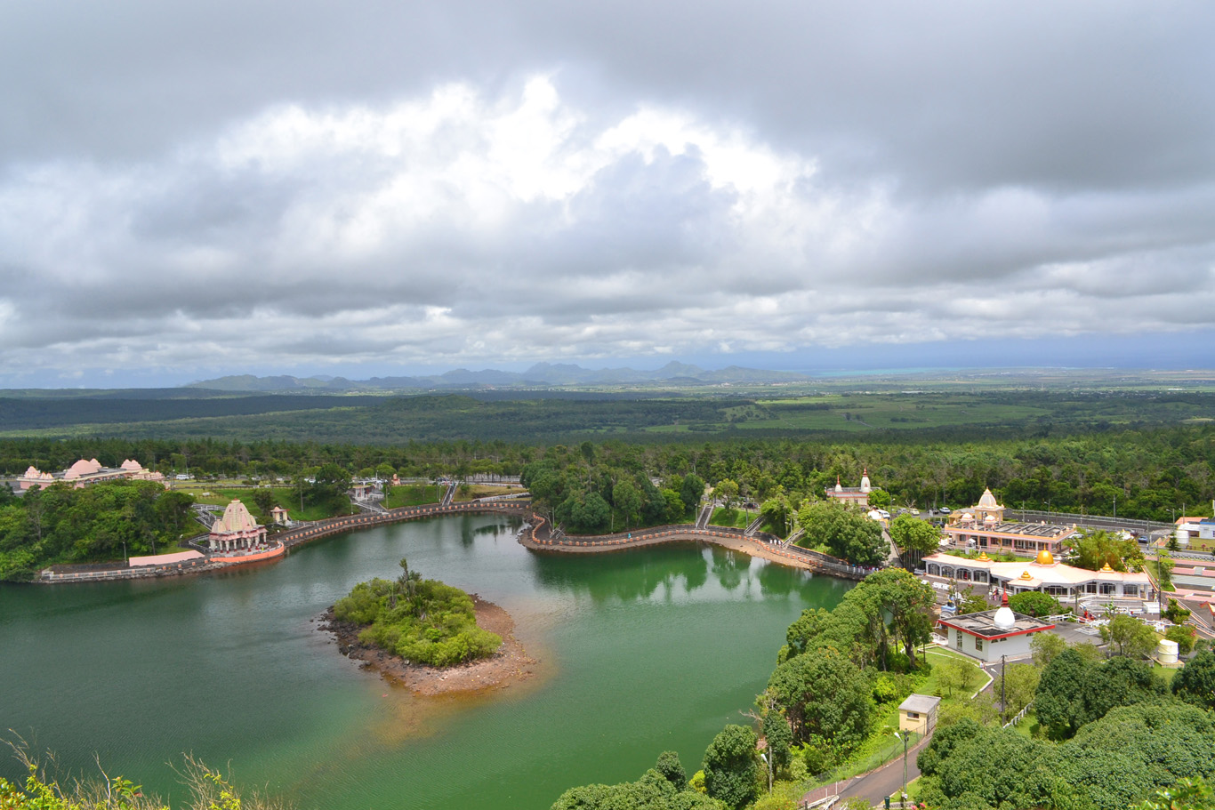 The view over Ganga talao