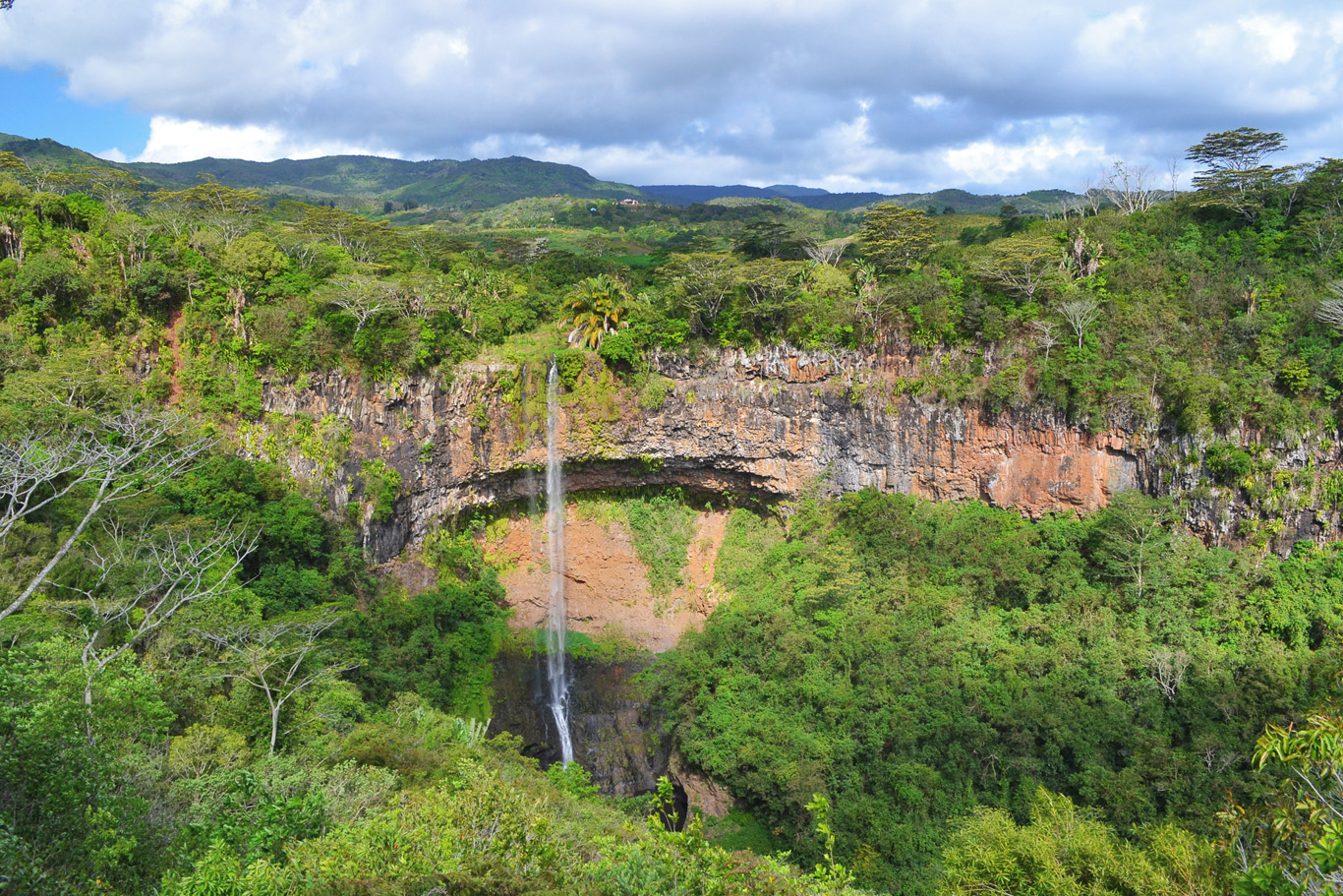 Chamarel Waterfall - for more info click  here