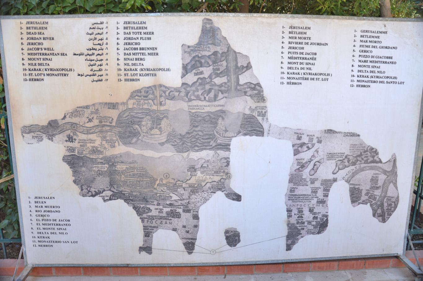 Mosaic - reconstruction
