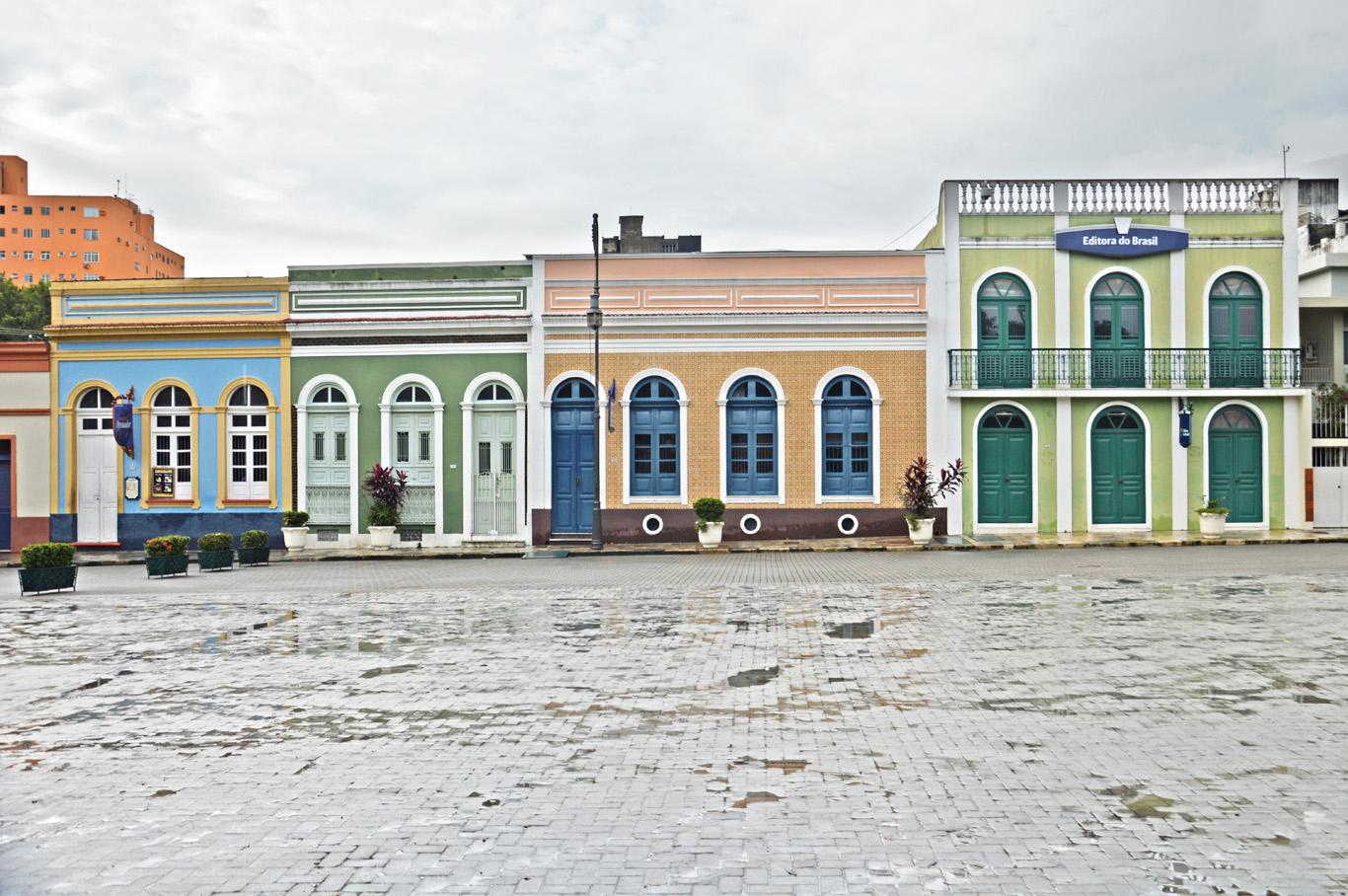 The Amazon Theater square