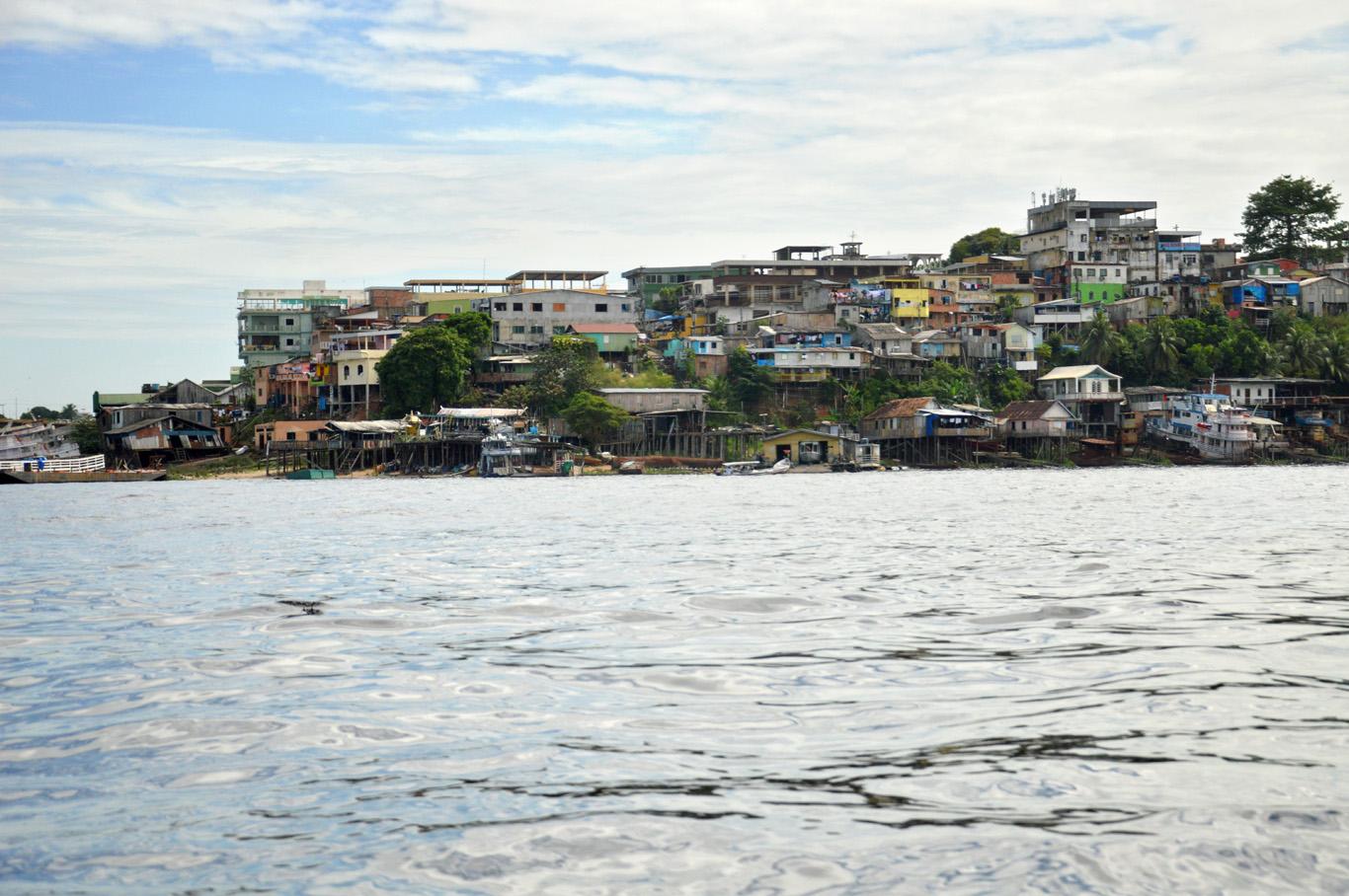 Manaus seen fro Rio Negro
