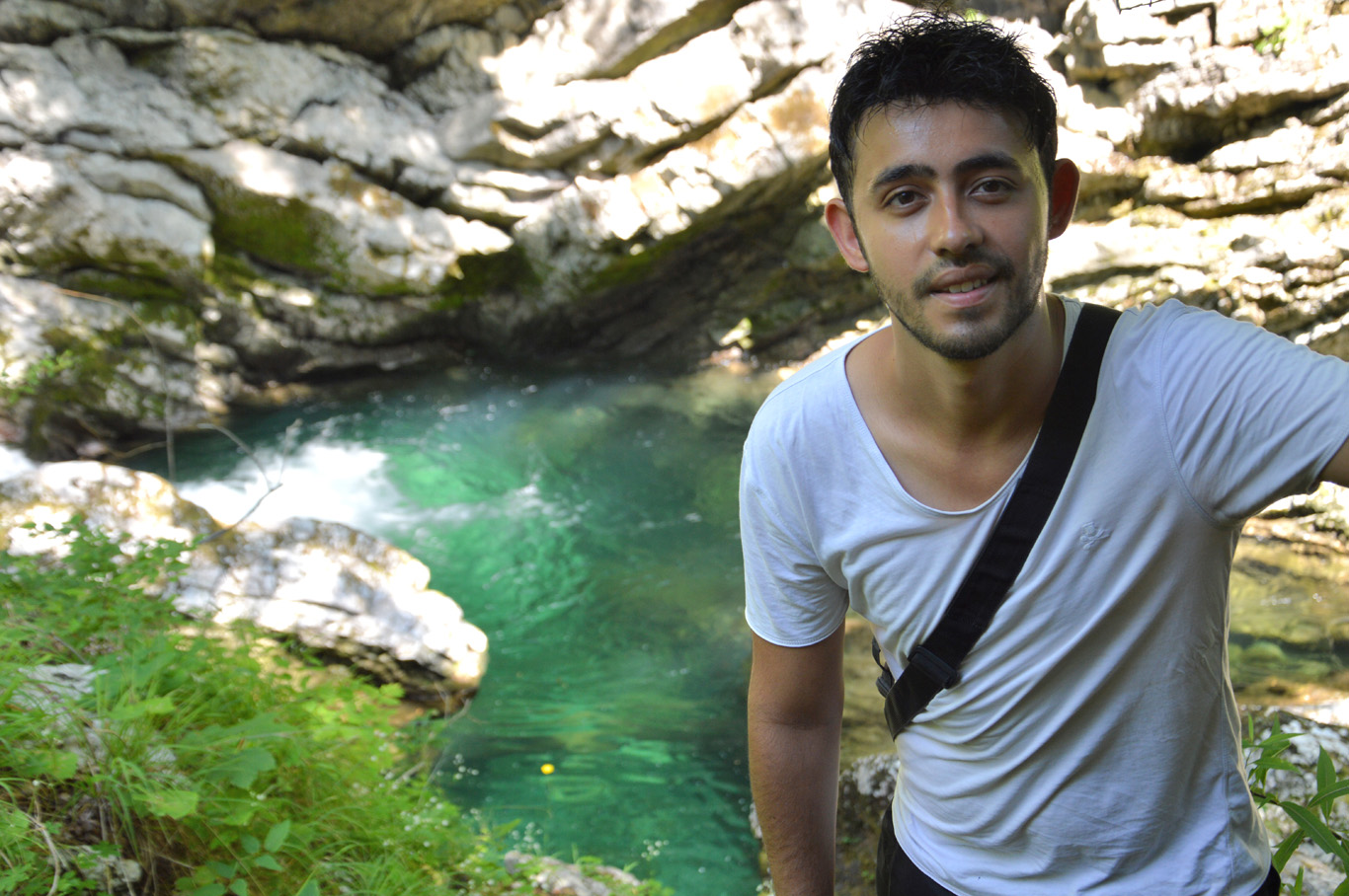 In Vintgar Gorge