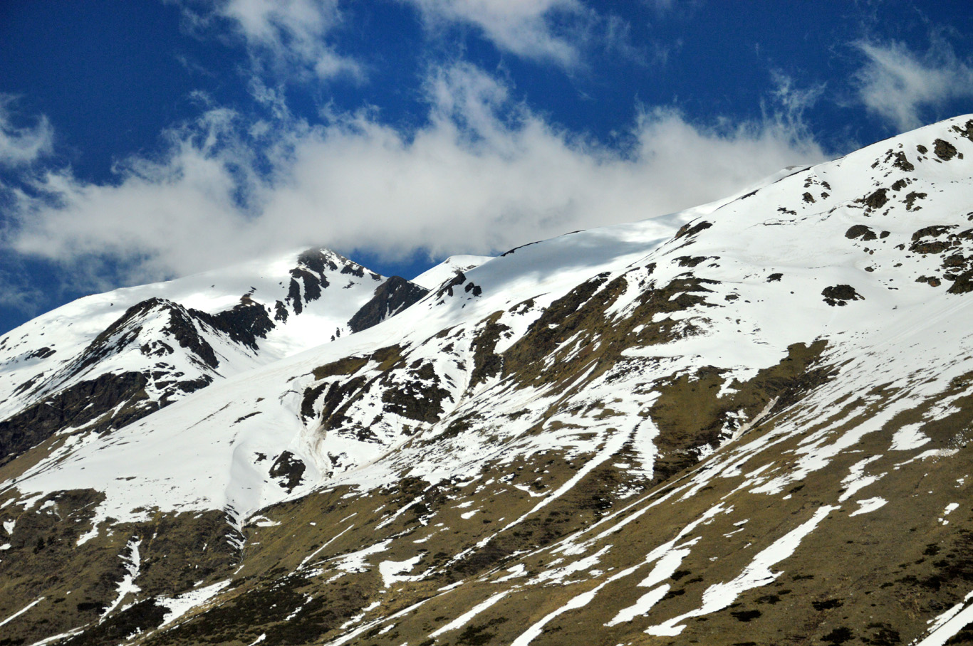 Pyrenees on the way to Andorra
