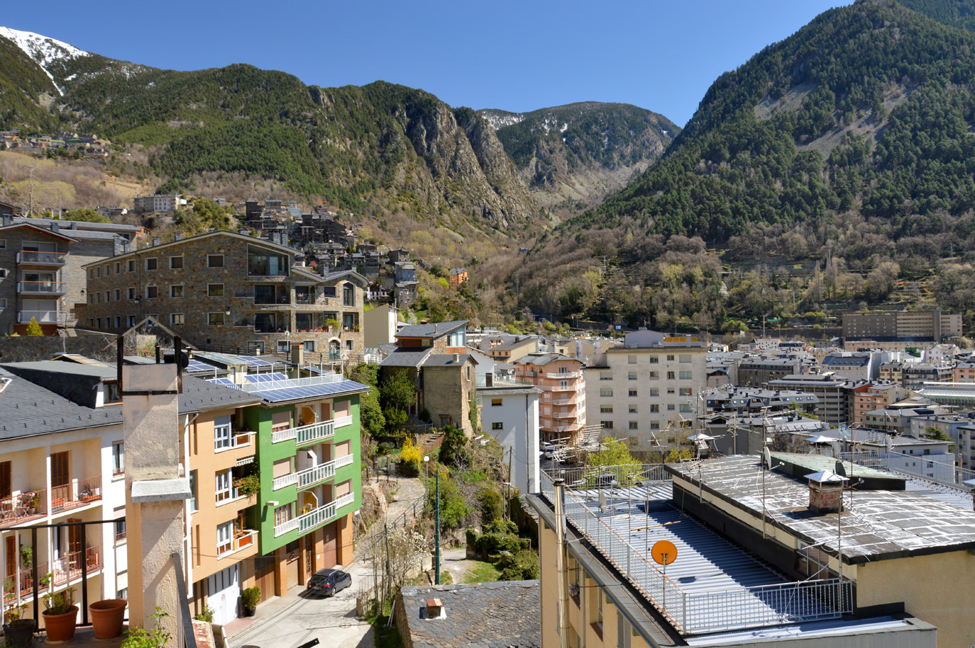 Andorra - one of the villages