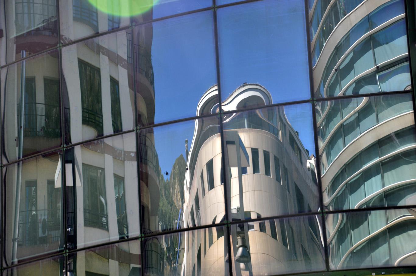 Andorra la Vella - reflection