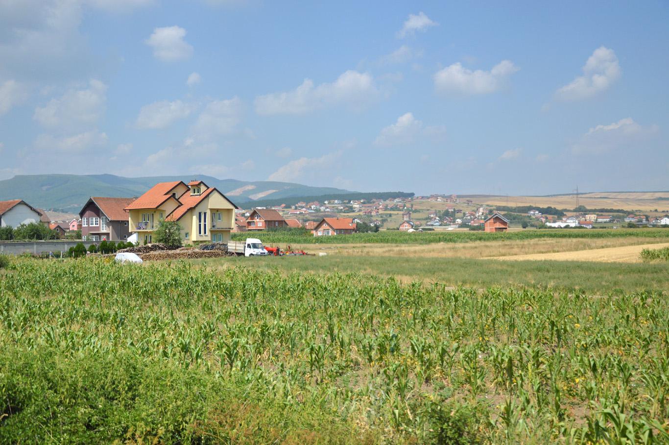 Countryside around Prishtina