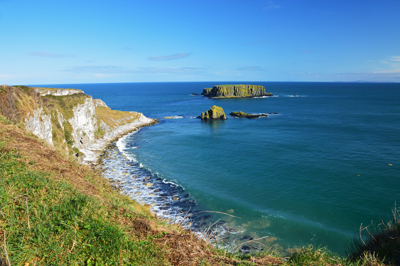 Carrick-a-Rede cliffs