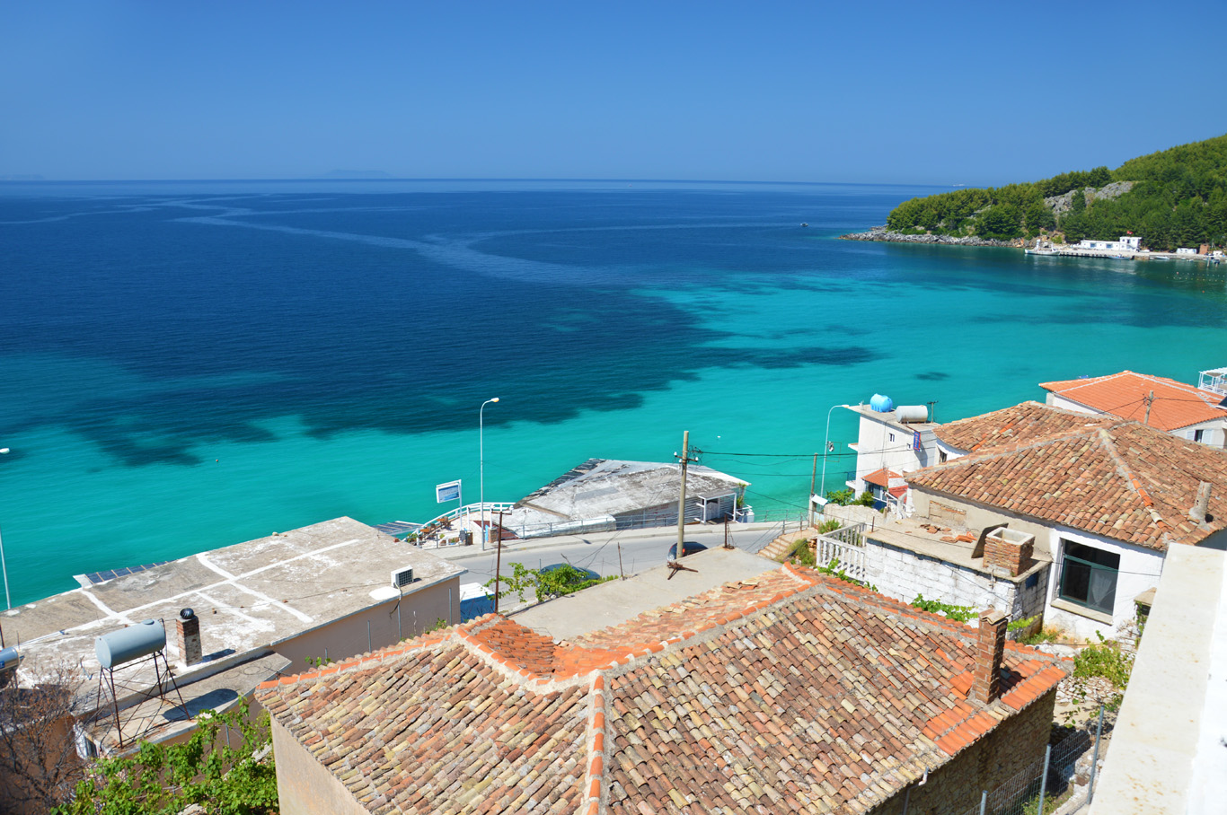 Himare - new town