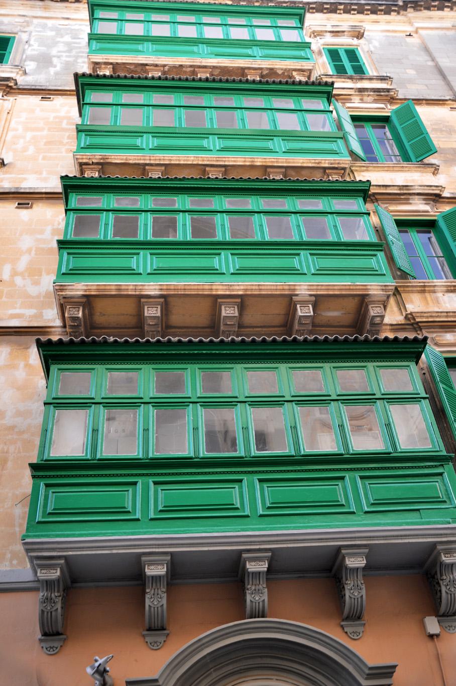 Distinctive balconies