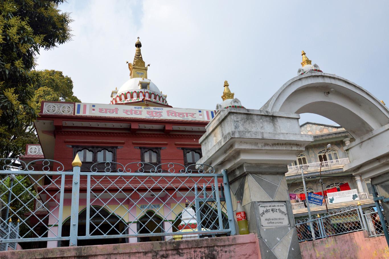 Entrance to Binhyabasini Temple