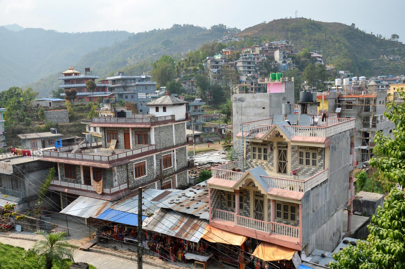 Buildings in Pokhara