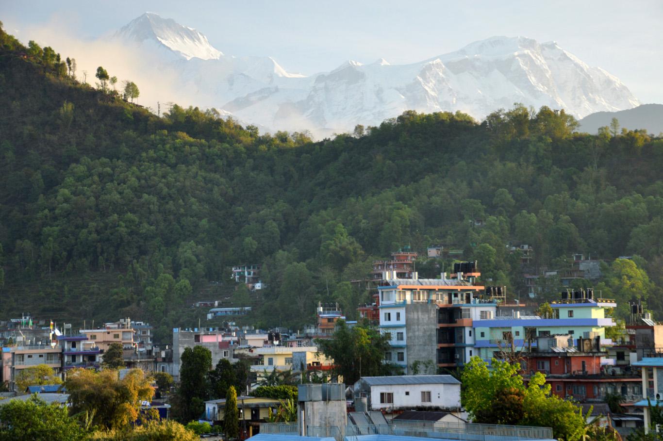 Pokhara at sunrise