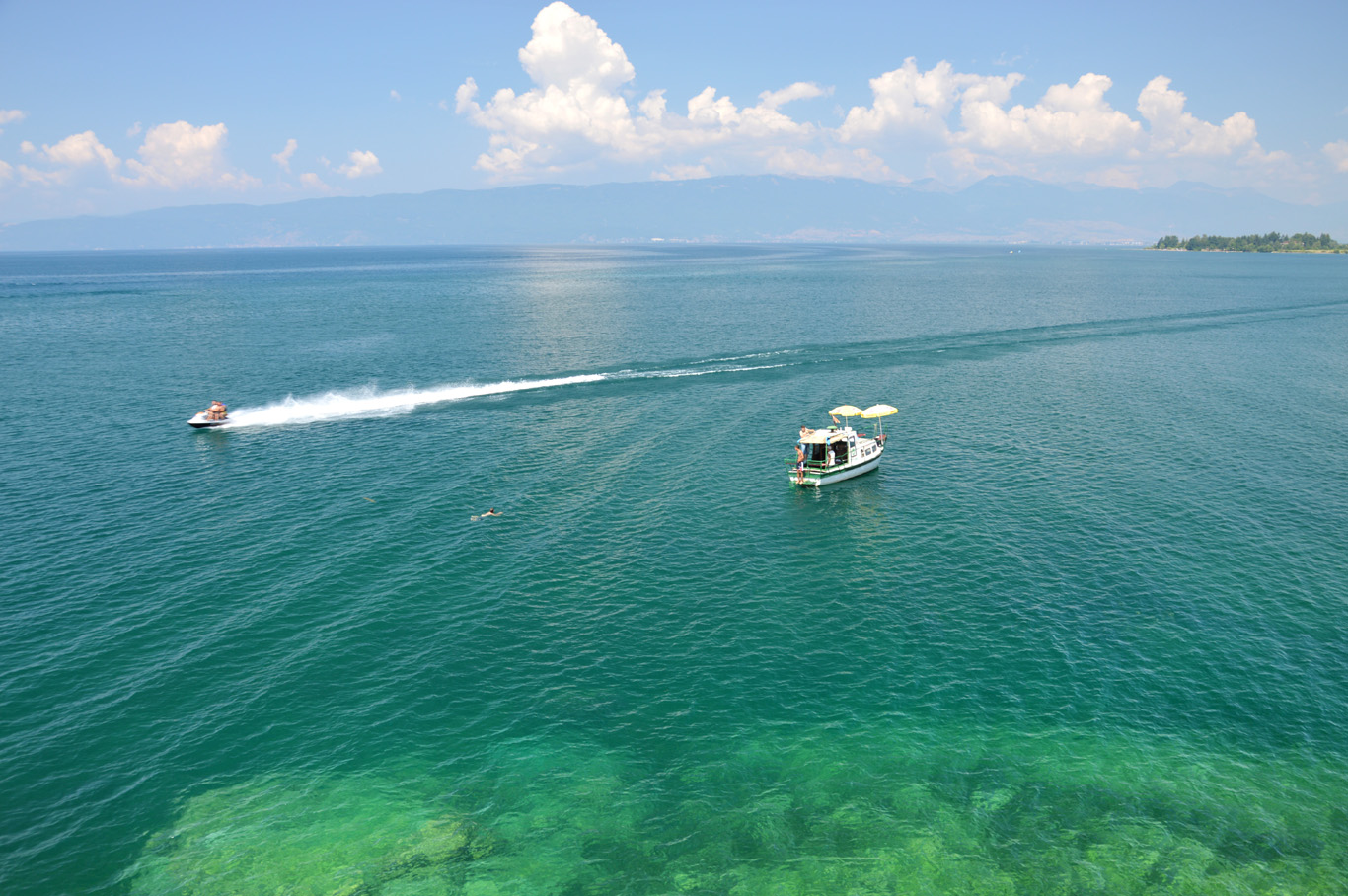 Lake Ohrid - view from St. John Kaneo Church
