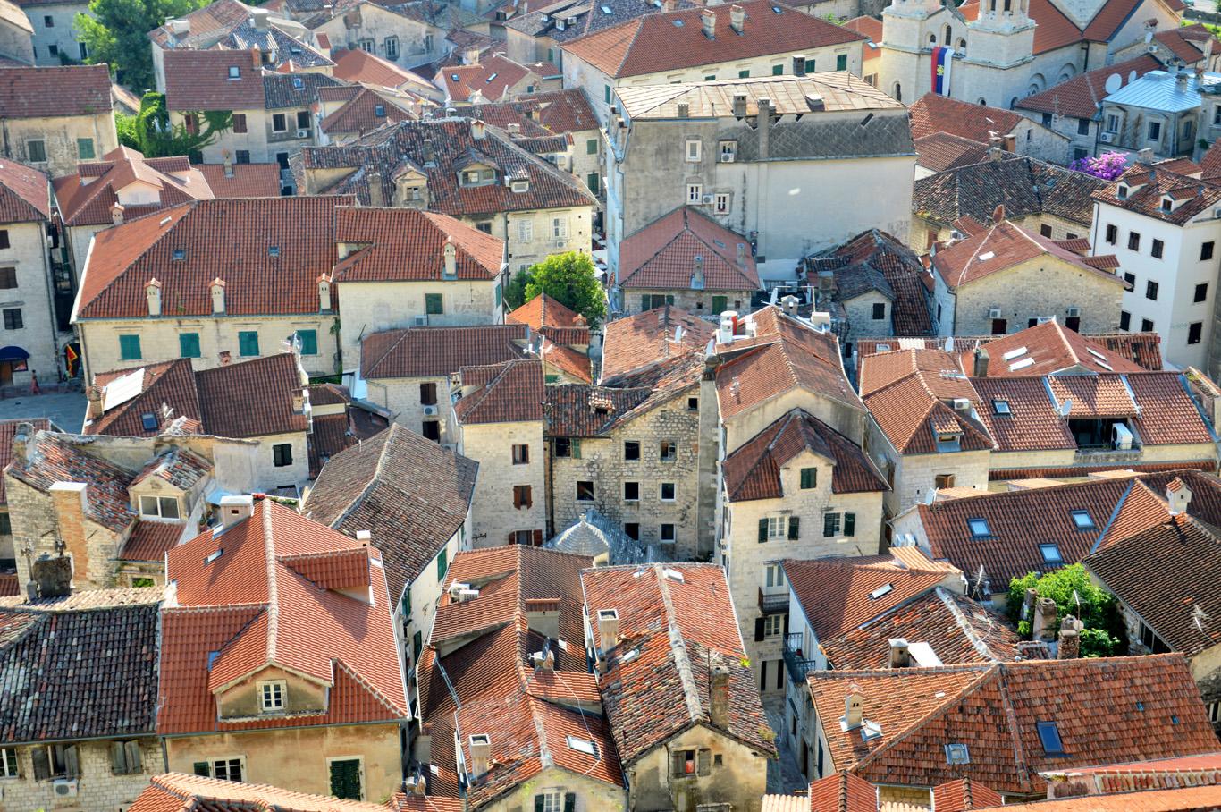Old town of Kotor (near Budva)