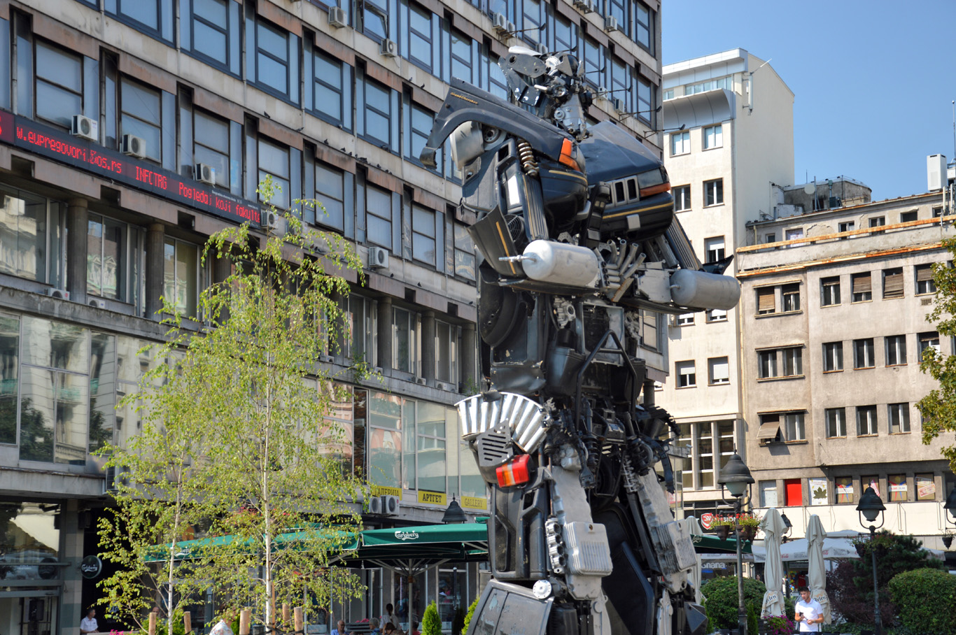 Transformers in Belgrade