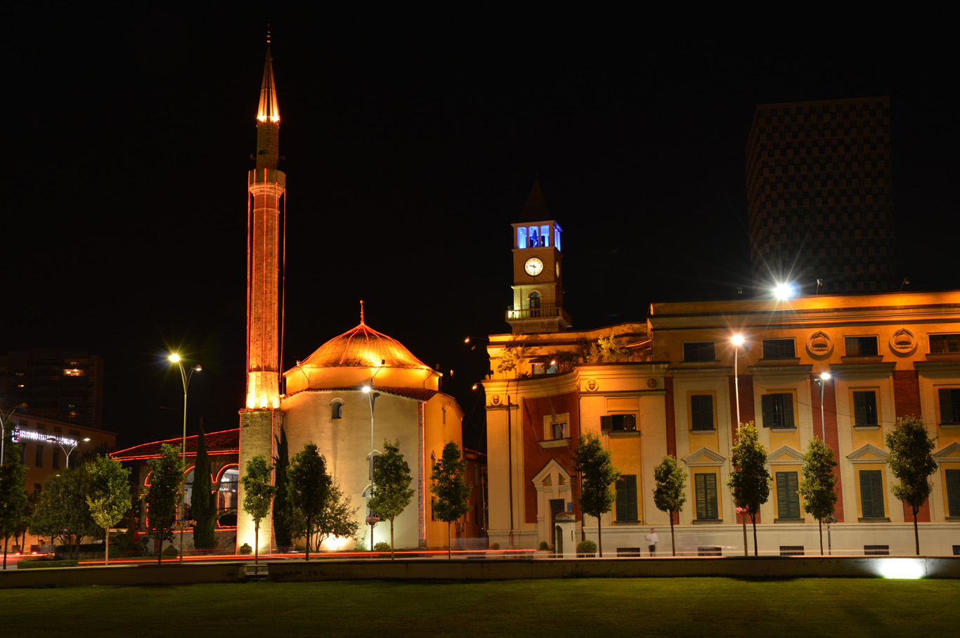 Et'hem Bey Mosque and Clock Tower