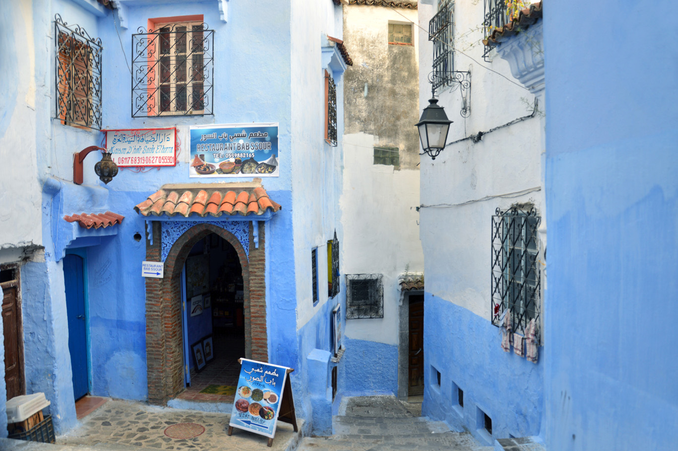 The blue town of Chefchaoeun -  read the full article here