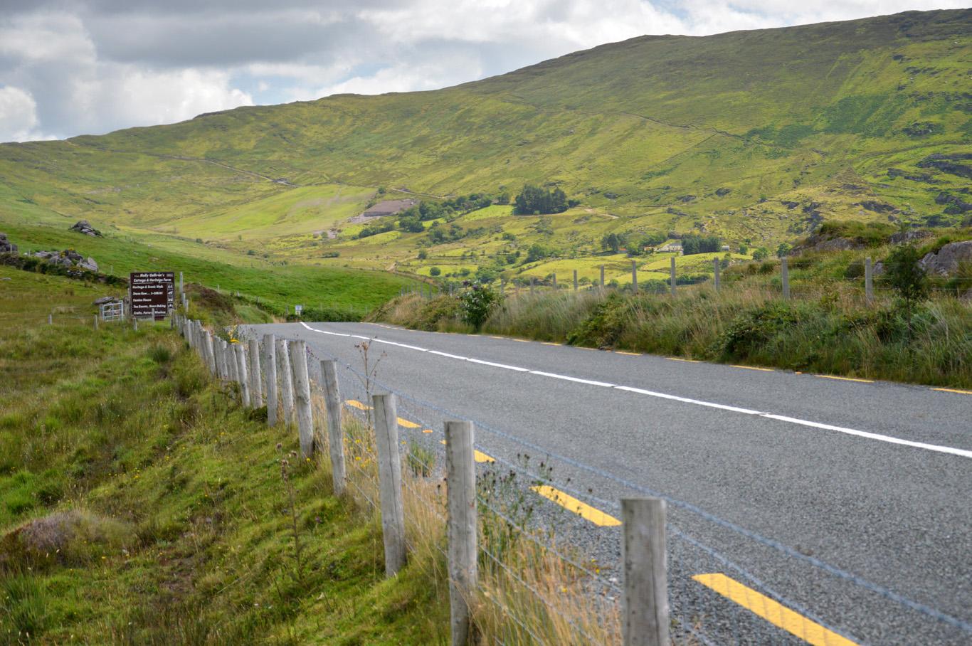 Typical Irish landscape