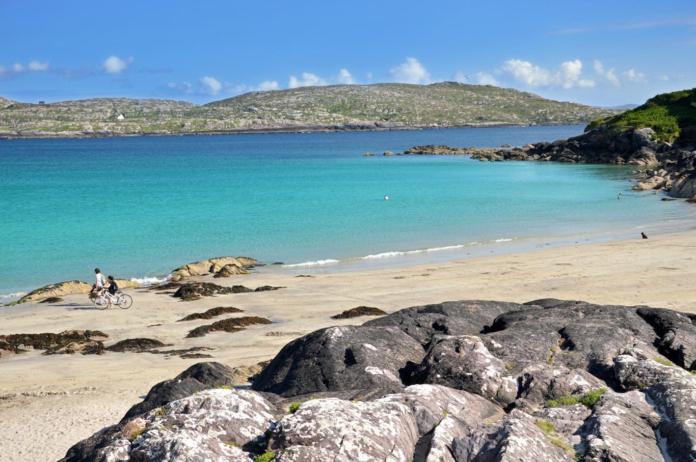 Abbey Island - the beach