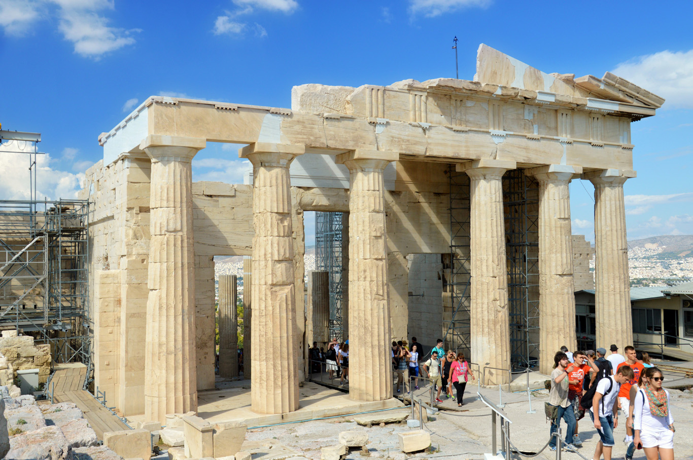 Propylaea - The Main Gate