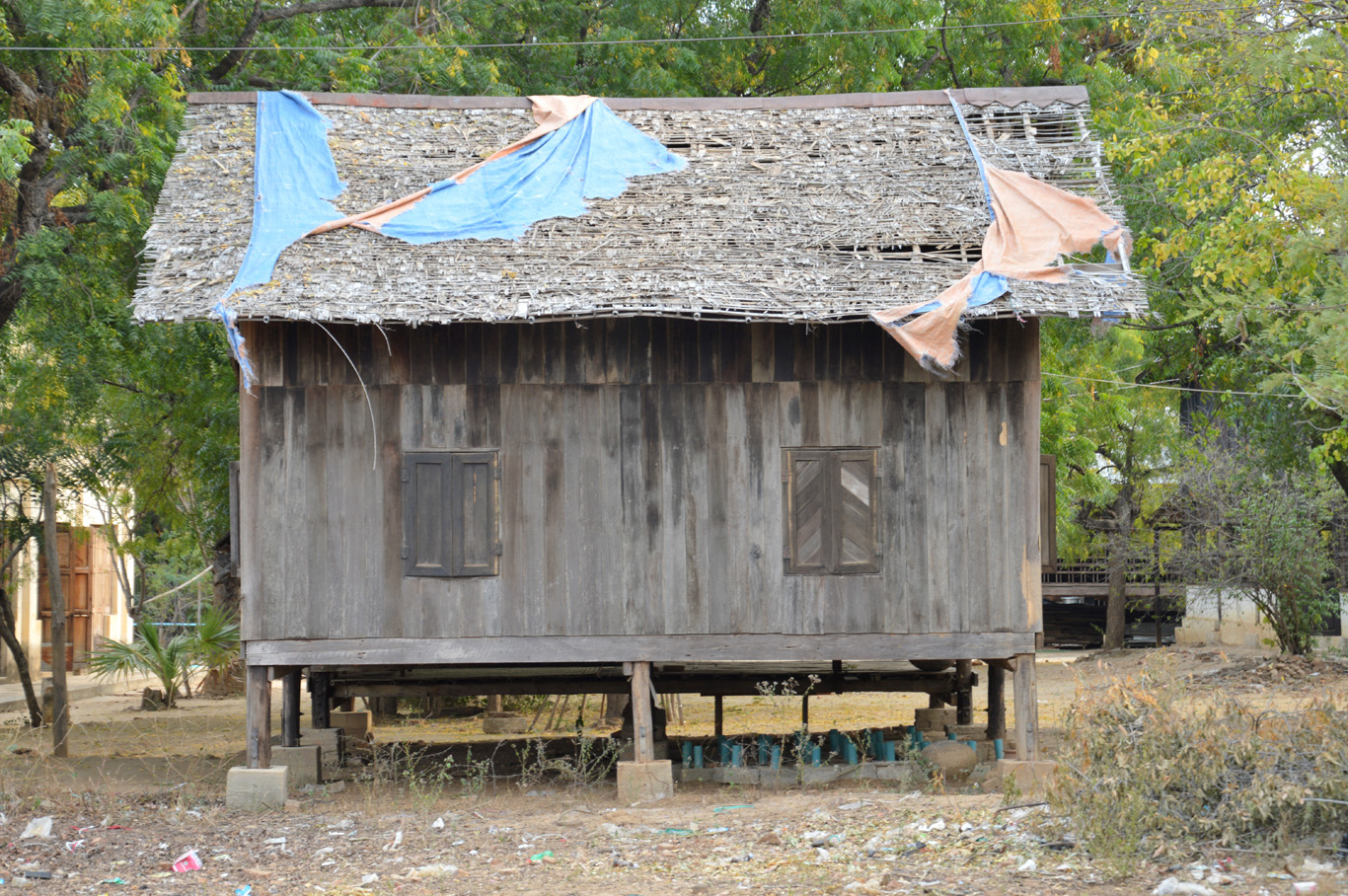 Local huts