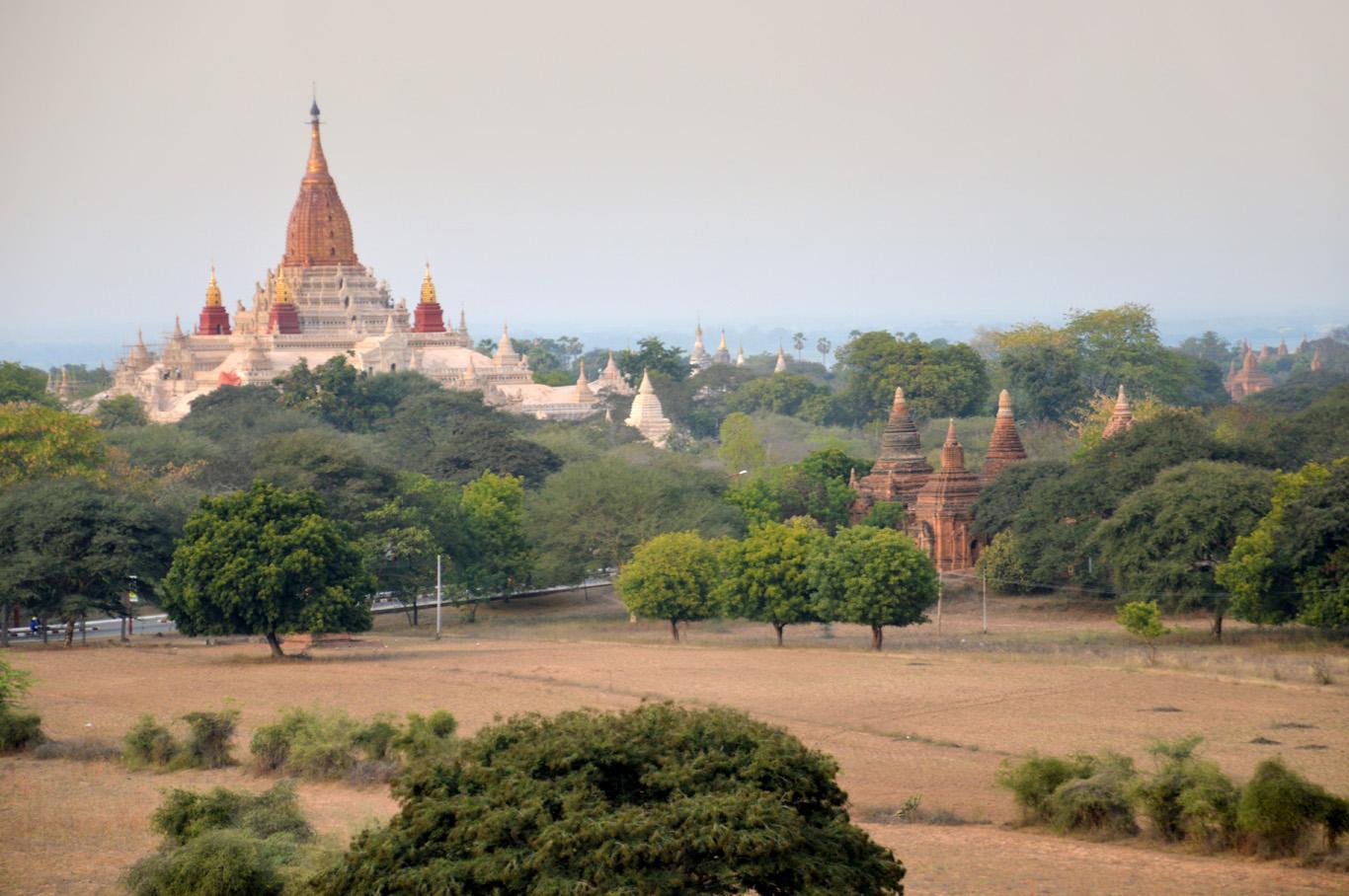 View of Ananda Pagoda
