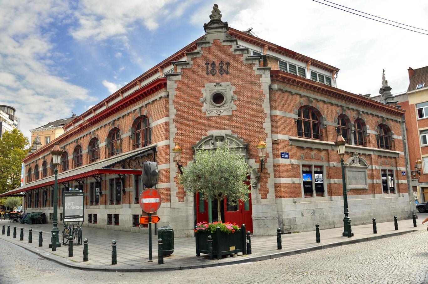 Halles de Saint Gery