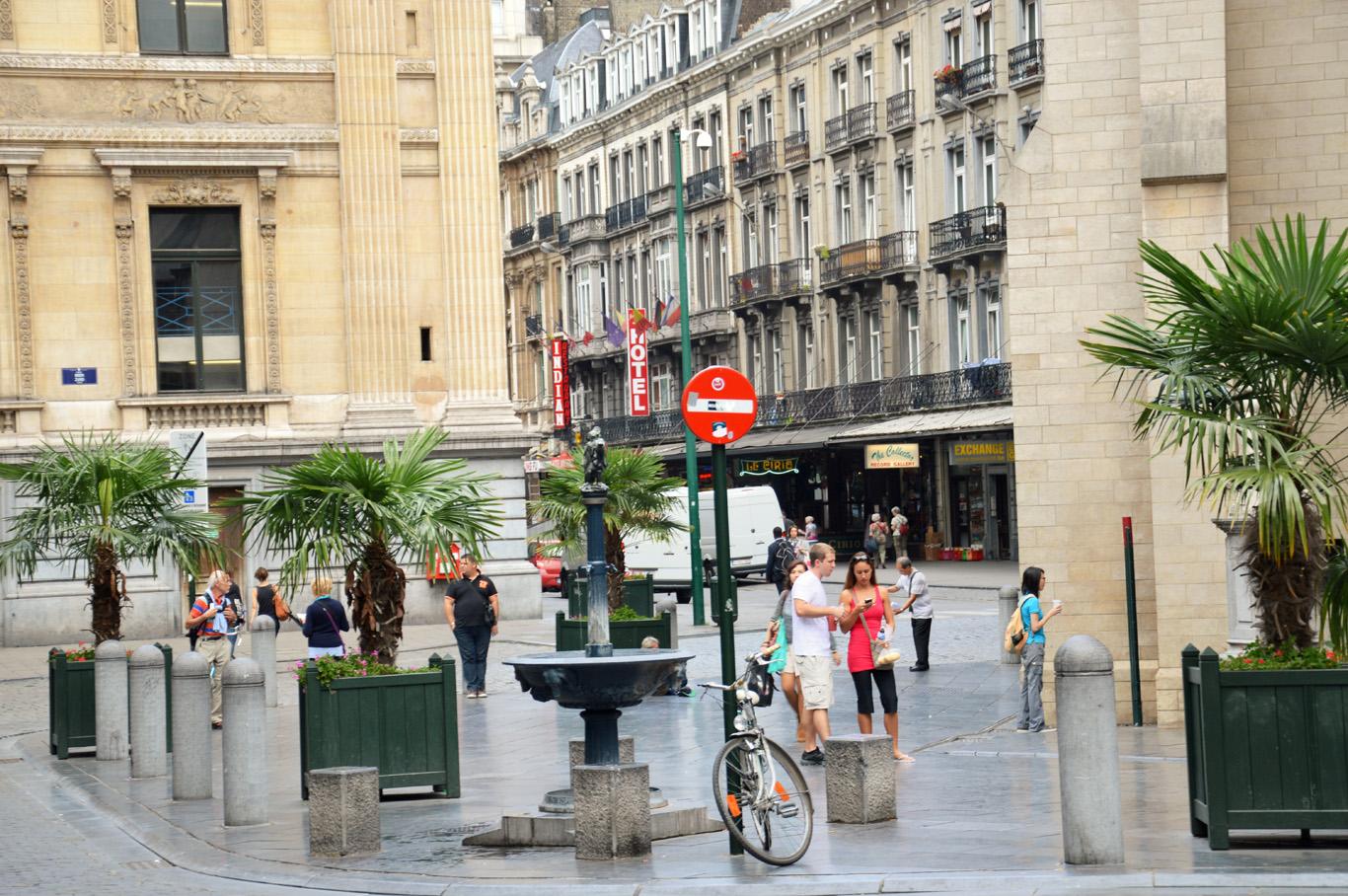 Street in Brussels