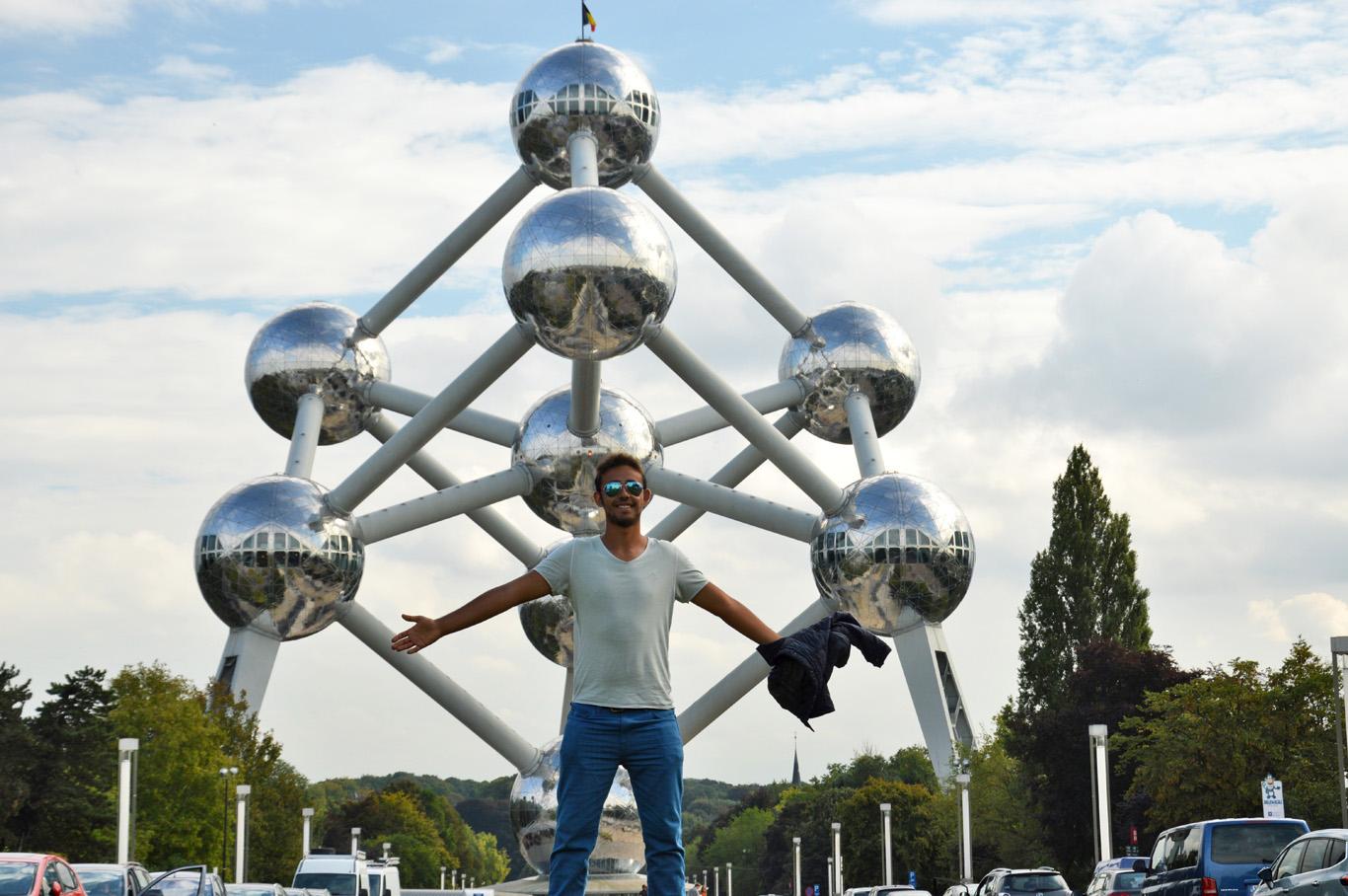 At the Atomium