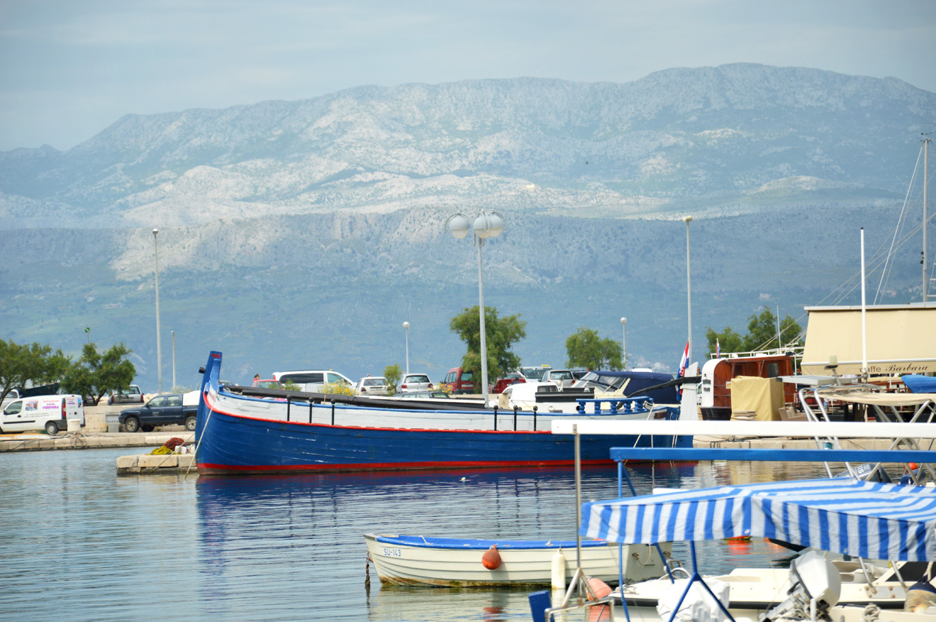Supetar - Mountains in Croatian mainland